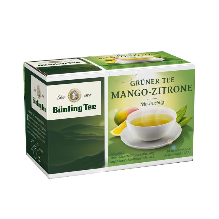 爱德莉 芒果-柠檬味绿茶茶包