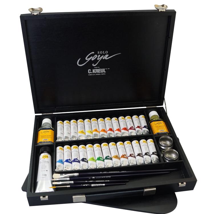 可洛尔 SOLO GOYA 精制专业艺术油画颜料盒