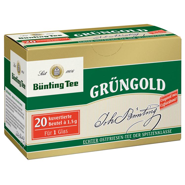 爱德莉 精制绿金红茶茶包(茶杯量)1.5g*20袋 30g 德国进口