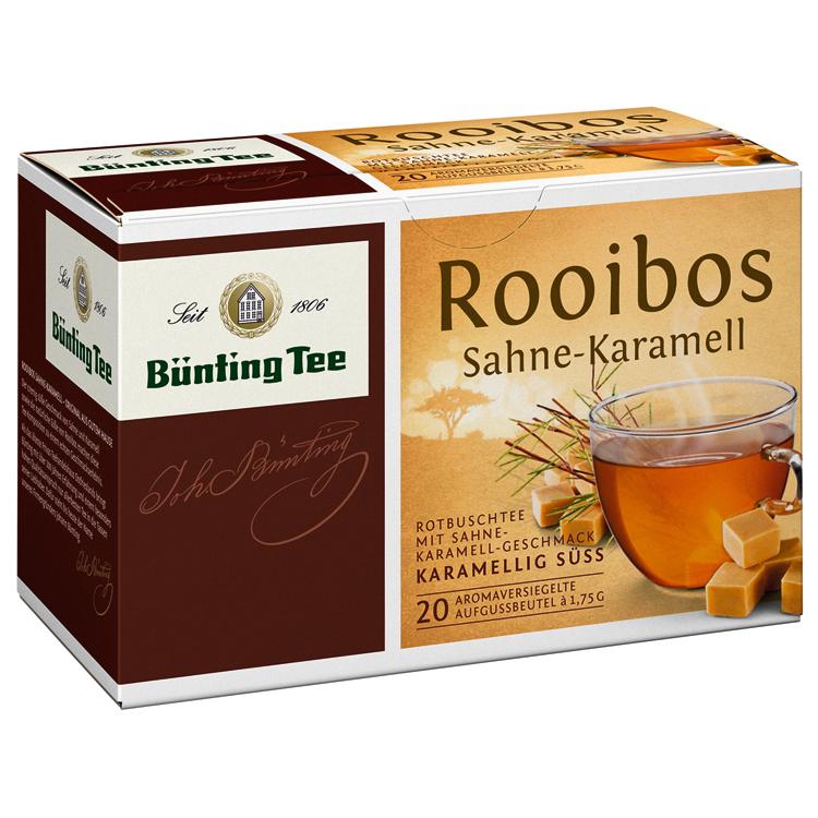 爱德莉 奶油焦糖味路易波士茶茶包 1.75gx20袋盒装 无咖啡因