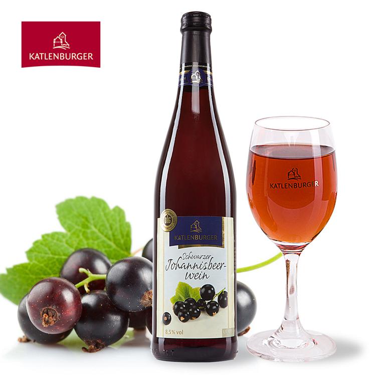 卡特伦堡 黑加仑传统装浆果酒