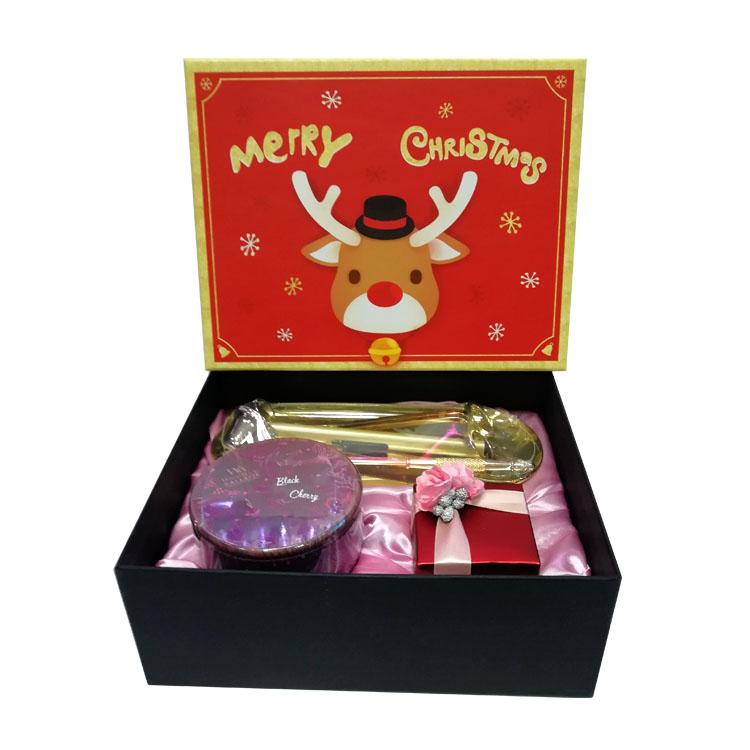 圣诞礼盒套装 象牙薰衣草香薰蜡烛