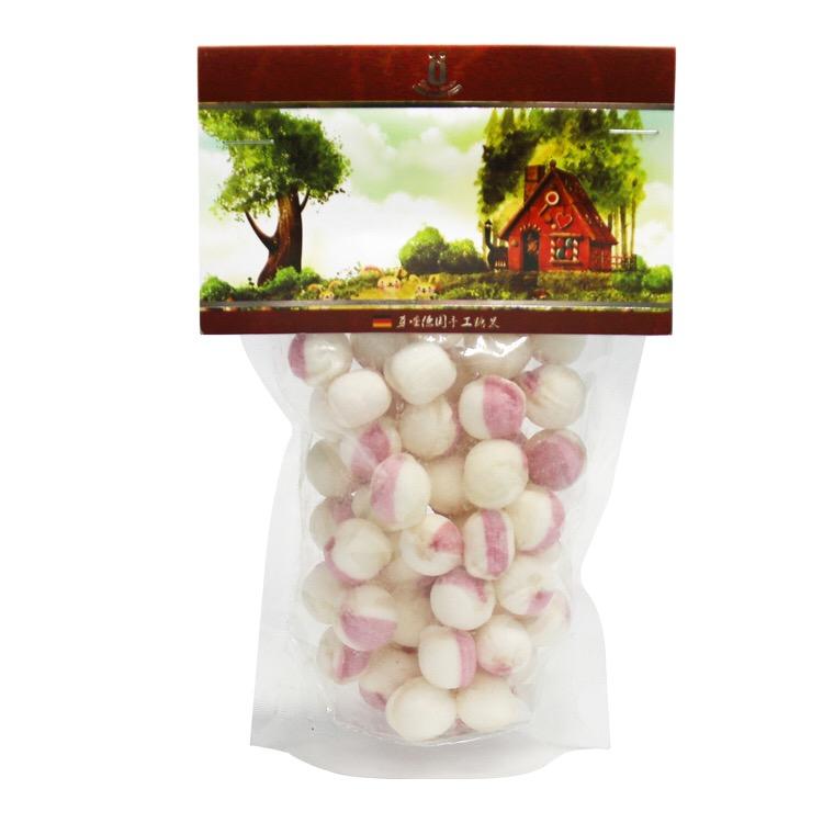 德国手工糖果 奶油布丁香甜口感水果糖 成人儿童休闲零食