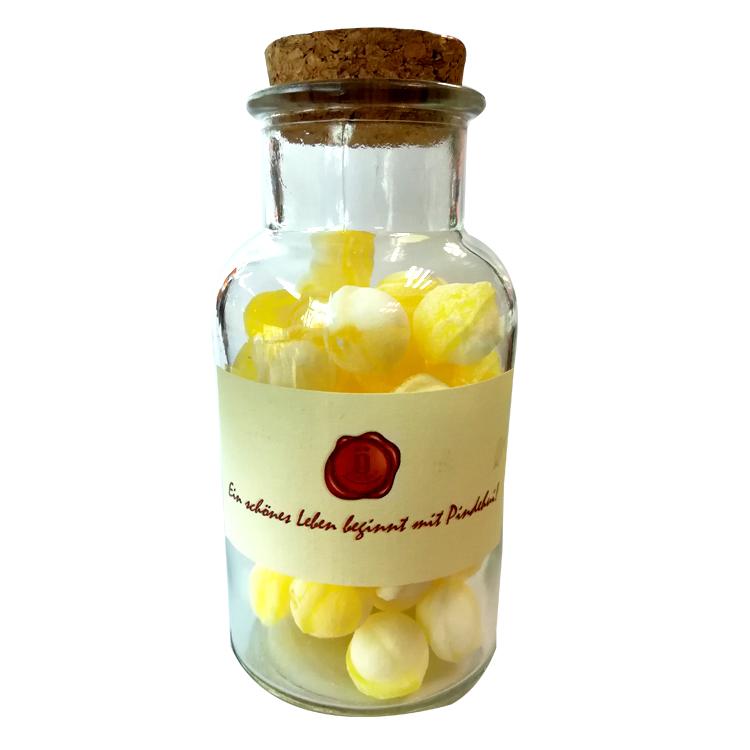 芽嘧 芒果奶昔水果糖100g瓶装