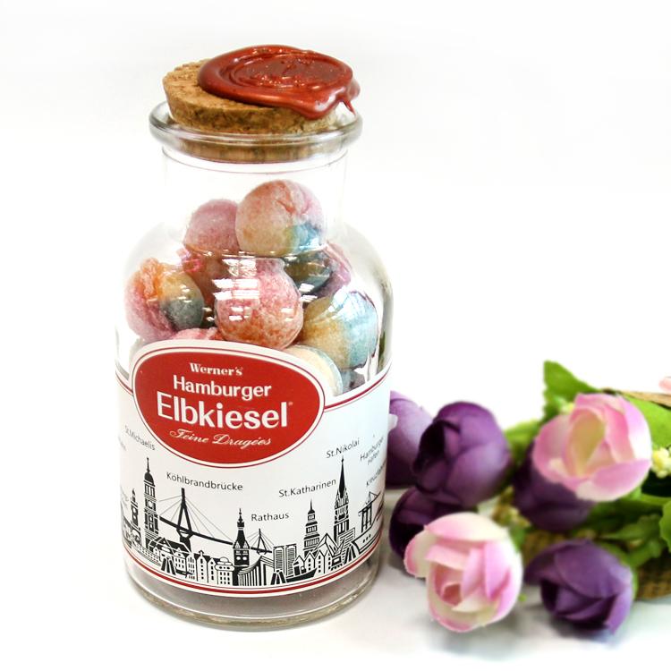 芽嘧 彩虹糖100g瓶装 水果味